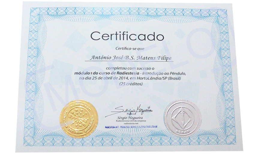 Curso de radiestesia certificado