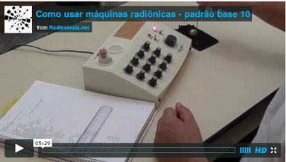 Máquinas radiônicas, como usar