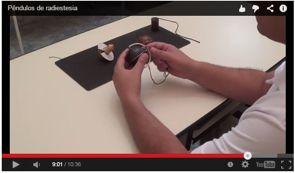 pêndulos de radiestesia