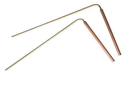 Dual Rod radiestesia