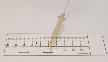 biômetro radiestesia