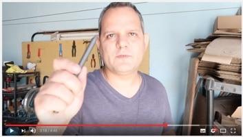 Como fazer um ponteiro (apontador) para radiestesia