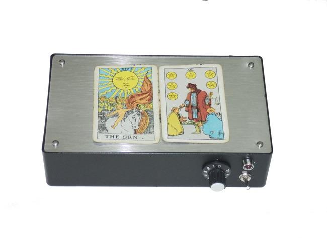 Uso das cartas de tarô em radiônica