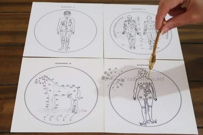 método carlini de radiestesia